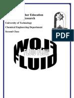Fluid Flow Lectures Dr Salah