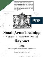 WW2 Bayonet Training   England   1942