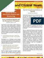 On Demand Clinical News Fall 2012