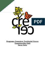 Programa territorial Construcción Civil 2013
