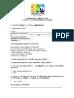 01 - QUESTIONARIO À POPULAÇÃO  BANDA BATIDÃO