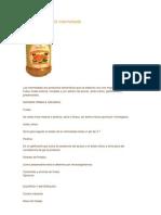 Elaboración de la mermelada