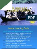 Lesson 12 - Document Control