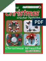 5 Free Christmas Crochet Patterns Crochet Christmas Wreaths eBook