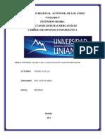 Informe Cliente/Servidor