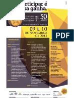 Ciclo de Debates - Araraquara SP