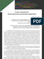 O Que e Democracia