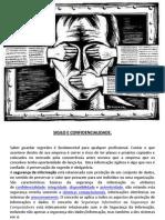 COMUNICAÇÃO 6 - Sigilo e confidencialidade