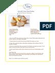 Ginger Peach Cupcakes Recipe