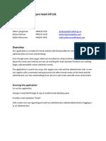 Documentation Project Hotel DIT126 V2