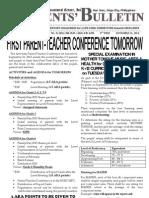 Parents Bulletin No. 12, s. 2012