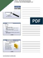 Fateb - Administração - Sistemas de Informação - Aula 24 - SGBD - Ms Access