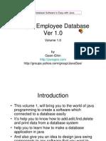 Simple Employee Database
