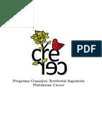 Programa Nicolás Morales Consejero Territorial Ingeniería 2013 Crecer UC