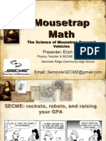 Mousetrap Math Science of MTVs