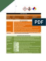 MSDS Amoniak