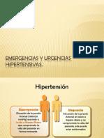 Emergencias y Urgencias hipertensivas