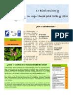 La Biodiversidad y Su Importancia