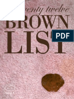 Brown List 2012