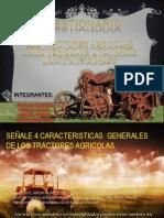 Tractores Agricolas Auqui,Alvarez,Montero,Parra.