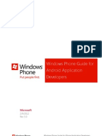 Wp7 Guide for Android Application Developers