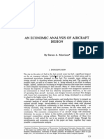 Economic analysis of aircraft design