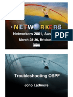 Troubleshooting OSPF