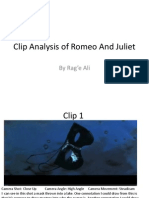 Clip Analysis of Romeo and Juliet