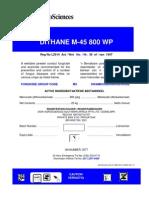 Dithane label1