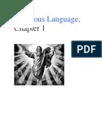 Chapter 1 - Religious Language
