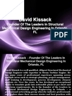 David Kissack - Founder of the Leaders in Structural Mechanical Design Engineering in Orlando, FL