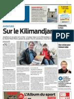 Kilimandjaro projet Jonathan