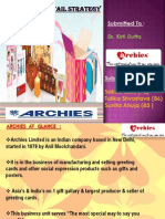 Archies ppt