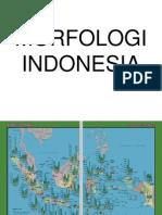 Peta Morfologi Indonesia