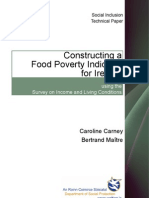Carney Maitre - Constructing a Food Poverty Indicator for Ireland