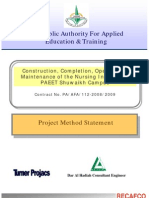 Method Statement for a construction project