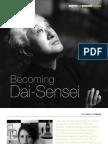 Becoming Dai-Sensei