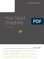 How Good Designers Think