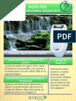 Boletín Informativo Oct. - ECOLTEC