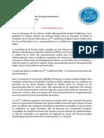 FIKR11 Communique de Presse Annonce