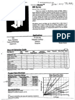 Filter Element Specification Sheet - OHIO INDUSTRIAL