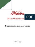 Malwina Marii Wirtemberskiej e-book