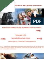 Fingerprints Identifications and Pardons Services