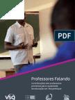 VSO teachers talking - professores Falando (PTversion)
