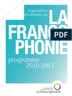OIF Programme 2010 2013