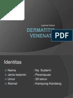 Dermatitis Venenata Dr Fasihah