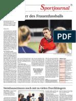 Zeitungsbericht D1 in der Zuger Zeitung vom 16. Oktober 2012