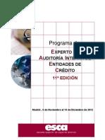 Programa Experto en Auditoria Interna