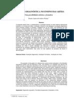 Daiane Pettine - Avaliação Diagnóstica em Artes