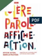 Expo Affiche action et politique